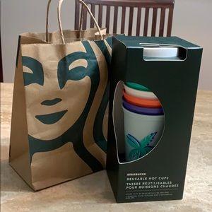 Starbucks ⭐️ Reusable Hot Cups